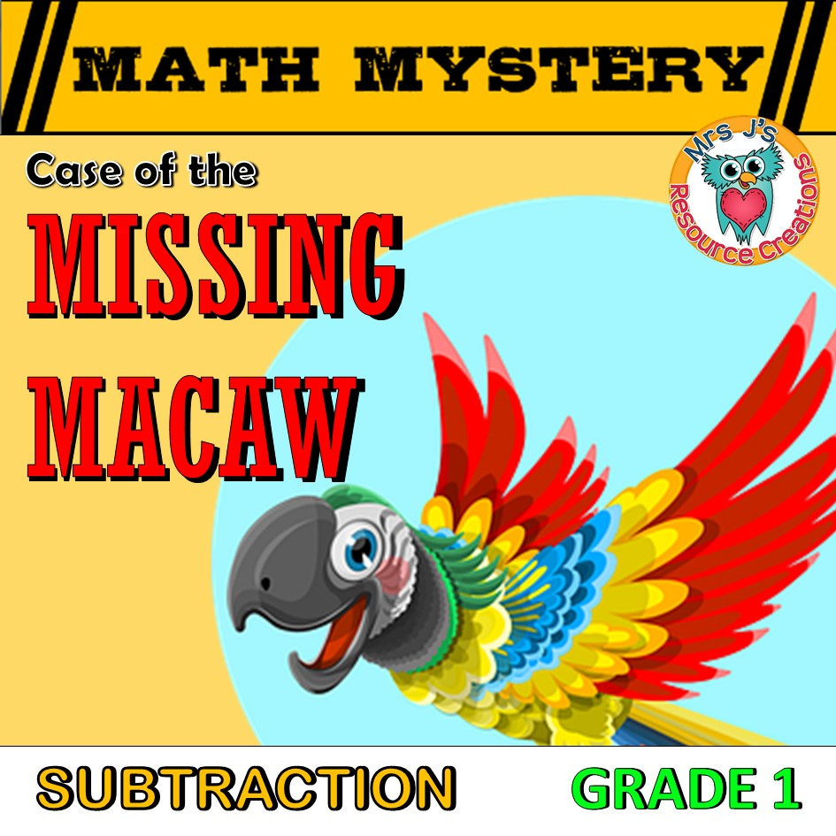 GRADE 1 Math Mysteries - Learning Made Fun!